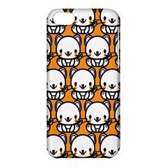 Sitwhite Cat Orange Apple iPhone 5C Hardshell Case