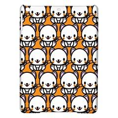Sitwhite Cat Orange iPad Air Hardshell Cases