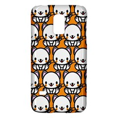 Sitwhite Cat Orange Galaxy S5 Mini