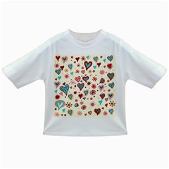 Valentine Heart Pink Love Infant/Toddler T-Shirts