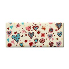 Valentine Heart Pink Love Cosmetic Storage Cases