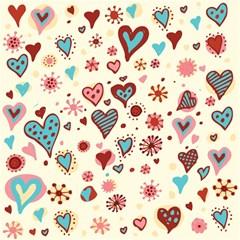Valentine Heart Pink Love Magic Photo Cubes