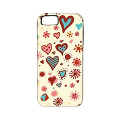 Valentine Heart Pink Love Apple iPhone 5 Classic Hardshell Case (PC+Silicone)