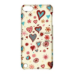 Valentine Heart Pink Love Apple iPod Touch 5 Hardshell Case with Stand