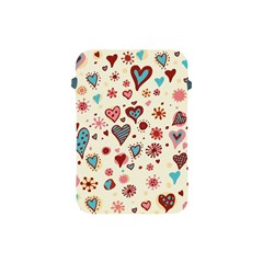 Valentine Heart Pink Love Apple iPad Mini Protective Soft Cases