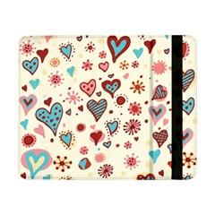 Valentine Heart Pink Love Samsung Galaxy Tab Pro 8.4  Flip Case