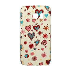 Valentine Heart Pink Love Galaxy S6 Edge