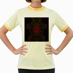 Sun Women s Fitted Ringer T-Shirts