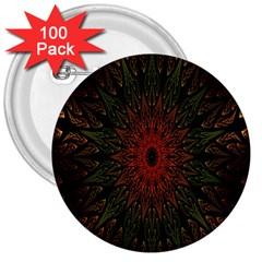 Sun 3  Buttons (100 pack)