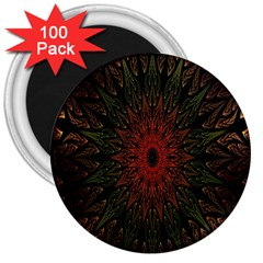 Sun 3  Magnets (100 pack)