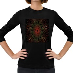 Sun Women s Long Sleeve Dark T-Shirts