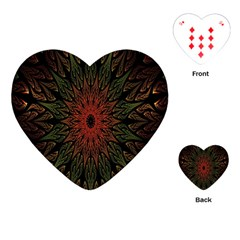 Sun Playing Cards (Heart)