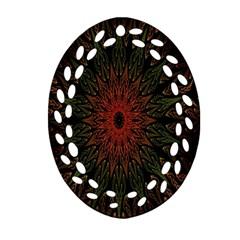 Sun Ornament (Oval Filigree)