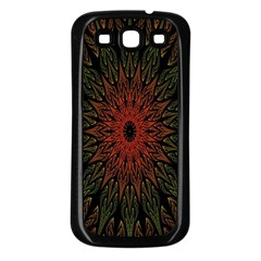 Sun Samsung Galaxy S3 Back Case (Black)
