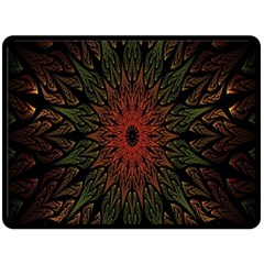 Sun Double Sided Fleece Blanket (Large)