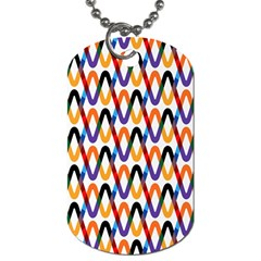 Wave Rope Dog Tag (One Side)