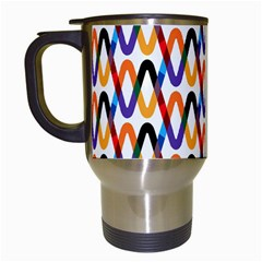 Wave Rope Travel Mugs (White)