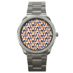 Wave Rope Sport Metal Watch