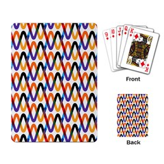 Wave Rope Playing Card