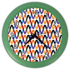 Wave Rope Color Wall Clocks