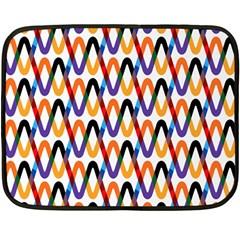 Wave Rope Fleece Blanket (Mini)