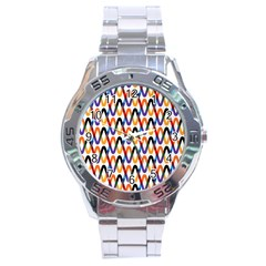 Wave Rope Stainless Steel Analogue Watch