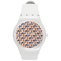 Wave Rope Round Plastic Sport Watch (M)