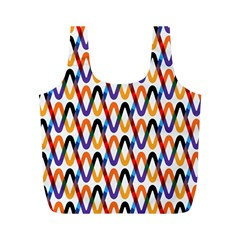 Wave Rope Full Print Recycle Bags (M)