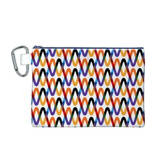 Wave Rope Canvas Cosmetic Bag (M)