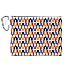 Wave Rope Canvas Cosmetic Bag (XL)