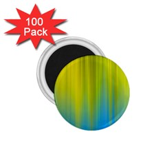 Yellow Blue Green 1.75  Magnets (100 pack)