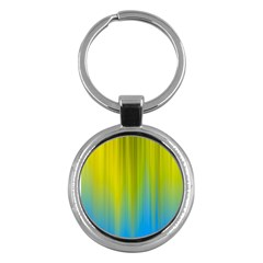 Yellow Blue Green Key Chains (Round)