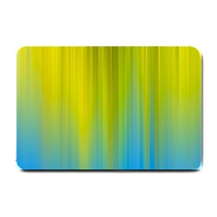 Yellow Blue Green Small Doormat