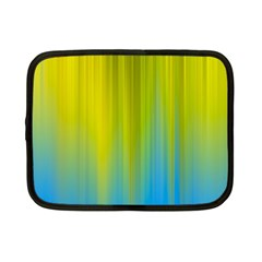 Yellow Blue Green Netbook Case (Small)