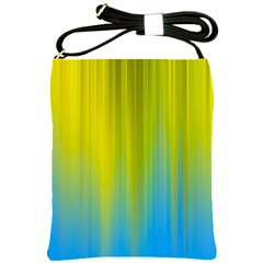 Yellow Blue Green Shoulder Sling Bags