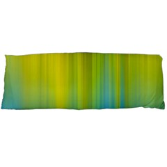 Yellow Blue Green Body Pillow Case (Dakimakura)