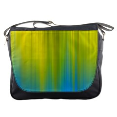 Yellow Blue Green Messenger Bags