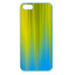 Yellow Blue Green Apple Seamless iPhone 5 Case (Color)