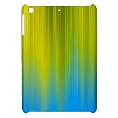 Yellow Blue Green Apple iPad Mini Hardshell Case