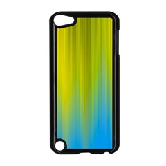 Yellow Blue Green Apple iPod Touch 5 Case (Black)