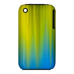 Yellow Blue Green iPhone 3S/3GS