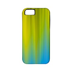 Yellow Blue Green Apple iPhone 5 Classic Hardshell Case (PC+Silicone)