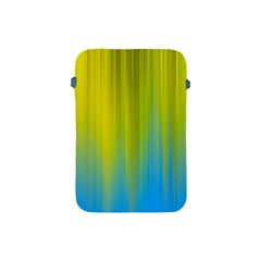 Yellow Blue Green Apple iPad Mini Protective Soft Cases