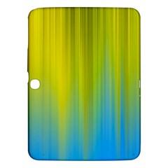 Yellow Blue Green Samsung Galaxy Tab 3 (10.1 ) P5200 Hardshell Case