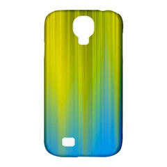 Yellow Blue Green Samsung Galaxy S4 Classic Hardshell Case (PC+Silicone)