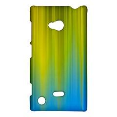 Yellow Blue Green Nokia Lumia 720