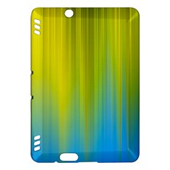 Yellow Blue Green Kindle Fire HDX Hardshell Case