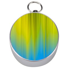 Yellow Blue Green Silver Compasses