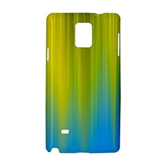 Yellow Blue Green Samsung Galaxy Note 4 Hardshell Case