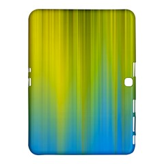 Yellow Blue Green Samsung Galaxy Tab 4 (10.1 ) Hardshell Case